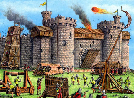 Under Siege - a history of siege weapons