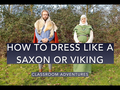 How to Dress Like a Viking and Anglo-Saxon