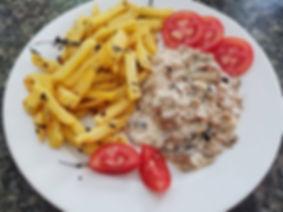Mushroom Sauce Fillet