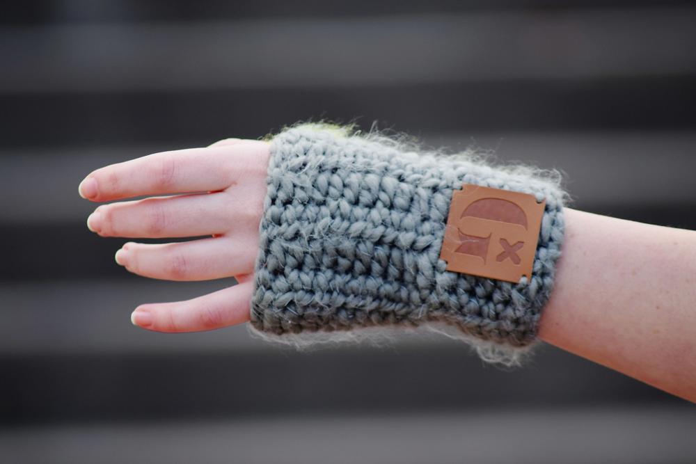 fair trade fingerless gloves