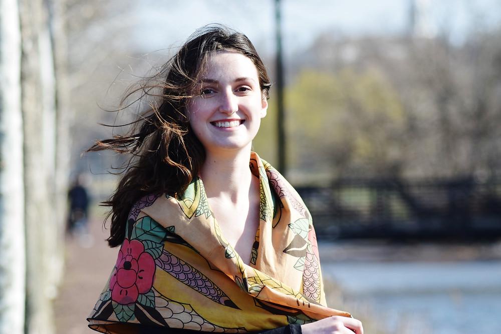 sustainable scarf shawl