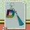 Thumbnail: Alphabet/Letter/Initial keychain, Lobster Clasp Swivel Trigger (Silver)