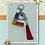 Thumbnail: Alphabet/Letter/Initial keychain, Lobster Clasp Swivel Trigger (Chrome)