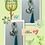 Thumbnail: Candy Charm and Tassel Keychain with Heart shape Metal Swivel Clip