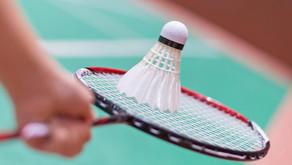 Badminton- an Schwammtraining ab dem 3. Mee 2021 rëm méiglech !