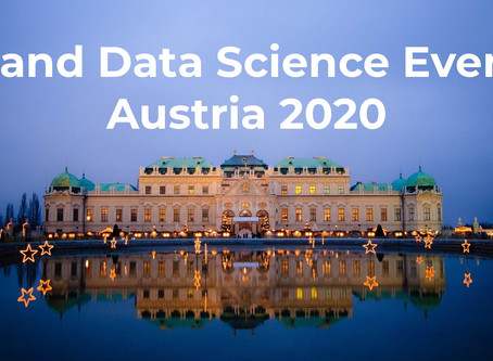 Upcoming Data Science and AI Events in Austria 2020