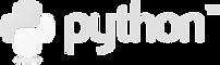 python logo faded