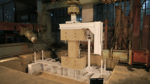 The 1st preliminary column test was made at BUET