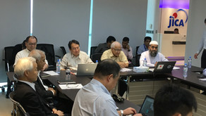 4th Joint Coordination Committee was held at JICA Bangladesh Office