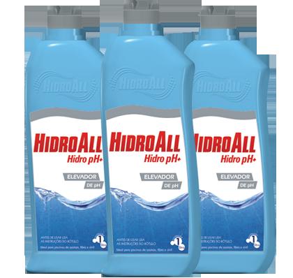 Hidro Ph+ Líquido 1lt. Hidroall