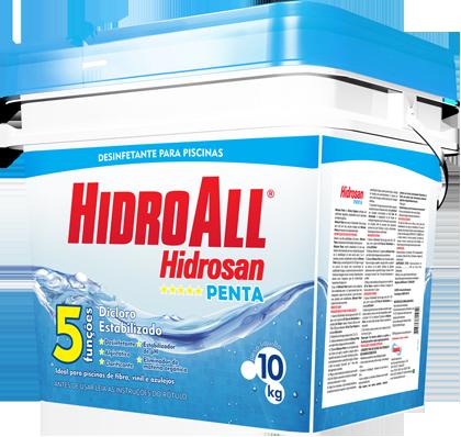 Cloro Hidroall Penta 10kg.