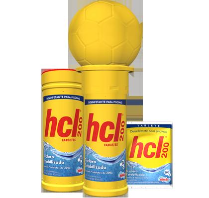 Pastilha HCL 200gr.