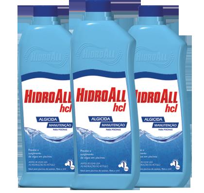 HCL Algicida de manutenção 1lt.