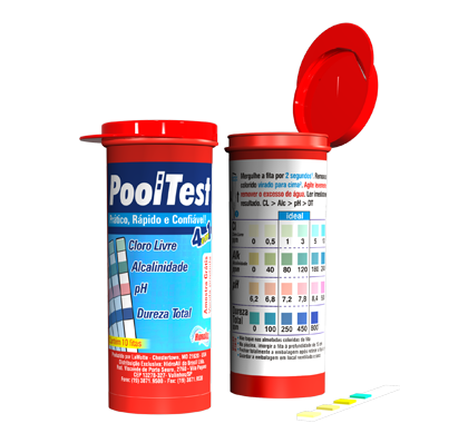 Kit Pool Test Fita Hidroall