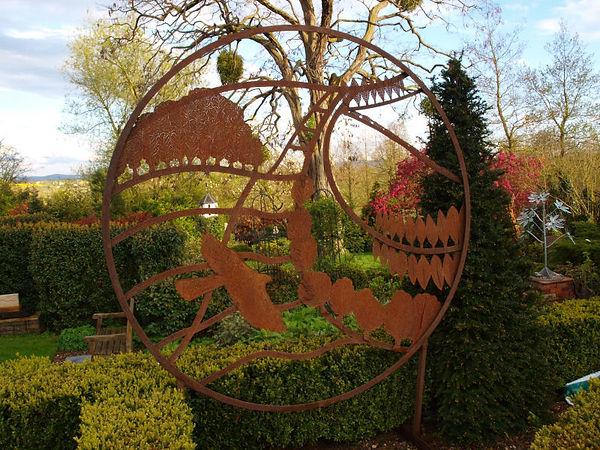 decorative garden screen