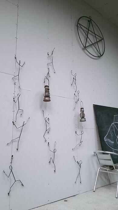 climber sculptures