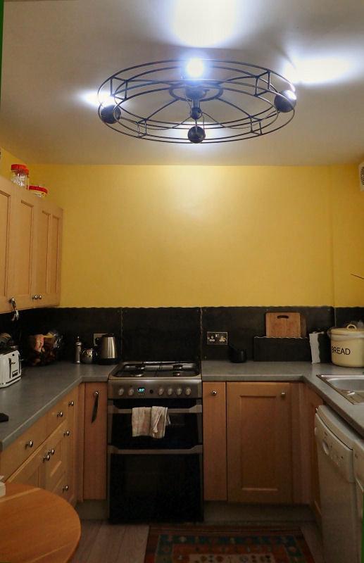 bespoke kitchen lighting