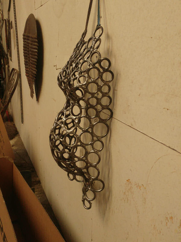 steel sculpture for home