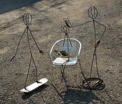 children sculpture