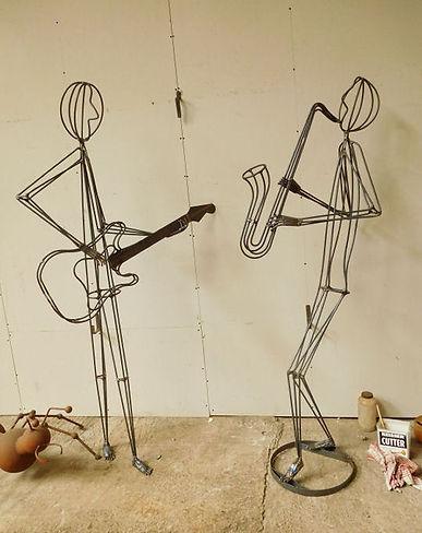 musical sculpture