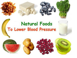 Foods For Blood Pressure Control!