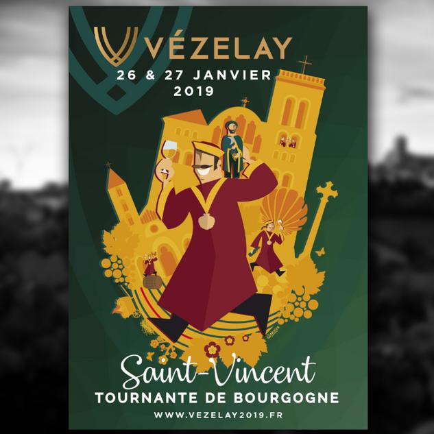 Affiche de la Saint Vincent Tournante 2019