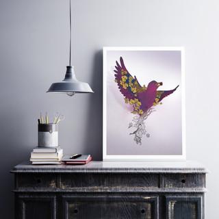 L'oiseau des vignes