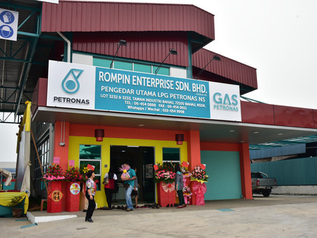 Rompin Enterprise Sdn Bhd Bahau HQ Grand Opening Ceremony on 23 October 2015