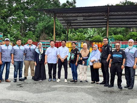 General Manager first site visit at Johor Bahru with LPG Southern Premier Dealers.