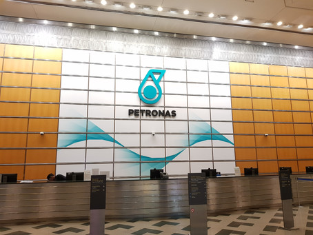 Submitted documentation to Petronas HQ at KLCC Tower 1