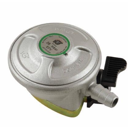 Milux LPG gas regulator with safety lock & safety Valve A120IEFV
