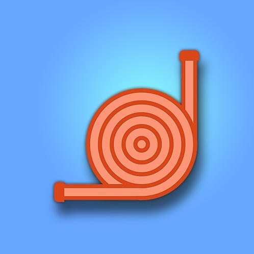 High Pressure Hose (Orange)