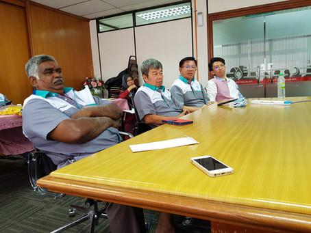 Attended Monthly LPG Meeting in JBRO August 2019