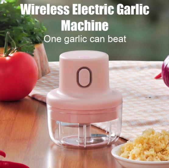 Electric Garlic Puree Food Chopper Kitchen Tools
