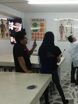 Anfiteatro - Pantalla Anatomage