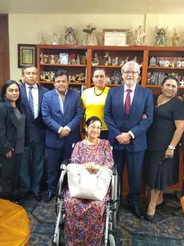 Reunión con el Delegado Estatal IMSS y CEST Medicina