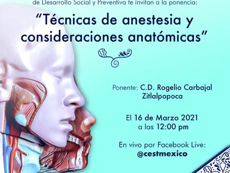 """""""Técnicas de anestesia y consideraciones anatómicas"""""""