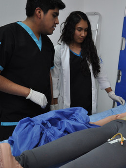 Practica en Simulación Médica