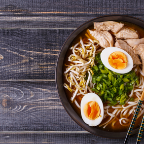 Rice Noodle Protein Bowl