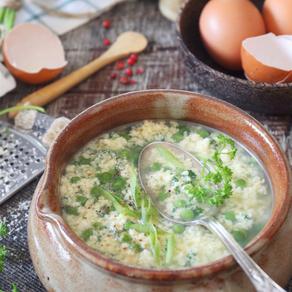 Stracciatella (aka Egg and Cheese Soup)