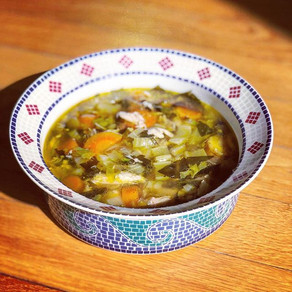 Ginger Chicken Seaweed Soup