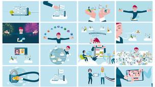 VOLKSWAGEN FS Art Direction, Animation, Charakter Design, Corporate Design