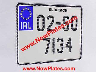 Carbon Fibre Look Motorcycle Pressed Plates are now available from our web shop at www.NowPlates.com