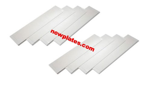 Sticky Pads and Screws for number plate fitting