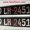 Thumbnail: Black and Brushed Chrome German Pressed Plates