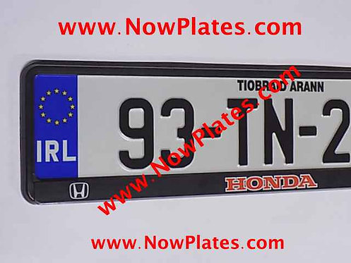 Pair of NCT Pressed Plates with Custom Frames