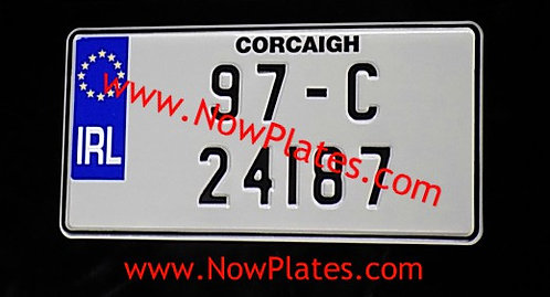 1 Only Jap Pressed Plate With Small Size No's 12 x 6ins (JS5)
