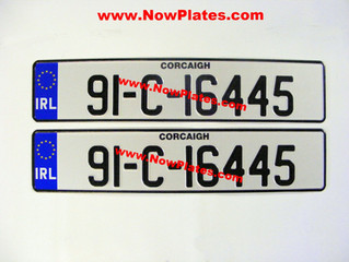 Reasons Why Your Registration Number Plates may Fail the NCT road worthiness test in Ireland.