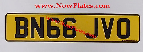 Only Plain English Pressed Plate