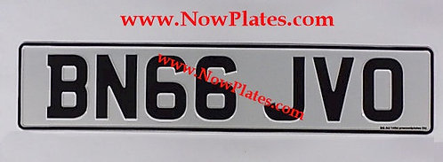1 Only Plain English Pressed Plate